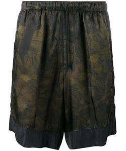 Dries Van Noten | Camouflage Print Shorts