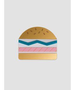 Jule Et Lily | Burger Brooch Multi
