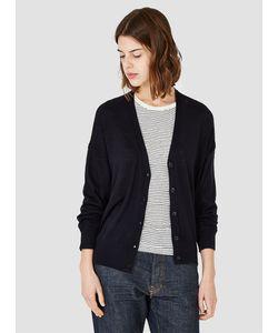 Demylee | Danna Merino Wool Cardigan Navy Womenswear