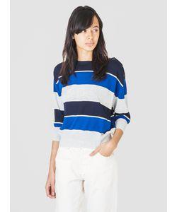 Demylee | Maya Jumper Navy And Cobalt Womenswear