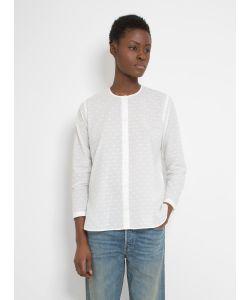 Folk   Collarless Long Shirt