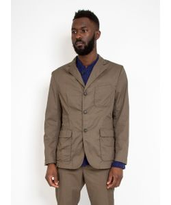 Engineered Garments | Baker Jacket High Count Twill