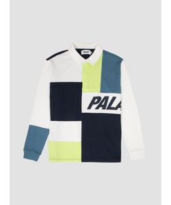 Palace | Patchwork Rugby Top