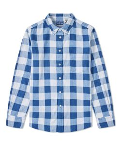 Blue Blue Japan | Button Down Traditional Check Shirt