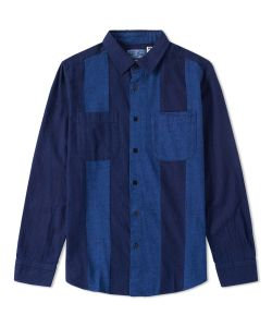 Blue Blue Japan | Flannel Cutover Shirt