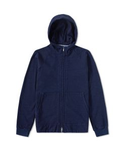 Blue Blue Japan | Yarn Dyed Zip Sweat