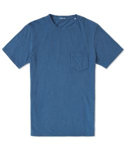 Blue Blue Japan | Hand Dyed Cotton Crew Neck Tee
