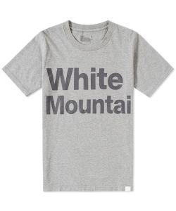 White Mountaineering | Logo Print Tee