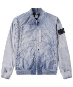 Stone Island Shadow Project | Garment Dyed Bomber Jacket
