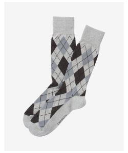 Express | Mens Argyle Print Dress Socks