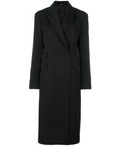 Maison Margiela | Fitted Long Coat Womens Size 44 Cotton/Viscose/Virgin Wool