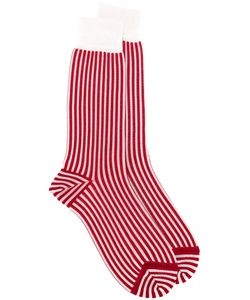 Haider Ackermann | Striped Socks Mens Size Ii Silk/Viscose
