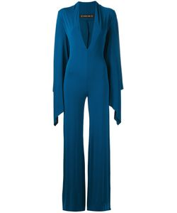 Plein Sud | V-Neck Jumpsuit Womens Size 40 Spandex/Elastane/Viscose