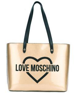 Love Moschino   Logo Print Tote Bag Womens Polyurethane