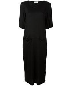 Facetasm | Jersey Midi Dress Size 2 Cupro/Tencel