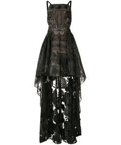 Marchesa Notte | Asymmetric Hem Dress Womens Size 6 Nylon