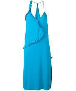 Cédric Charlier | Pleated Back Dress Womens Size 38 Polyester