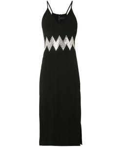 David Koma | Zig Zag Dress Womens Size 12 Acetate/Spandex/Elastane/Viscose