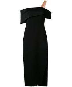 GINGER & SMART | Rendtion Off-Shoulder Dress Womens Size 10 Polyester/Spandex/Elastane/Viscose