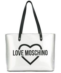 Love Moschino   Logo Print Shoulder Bag Womens Polyurethane/Leather
