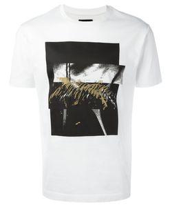 Les Hommes | Squares Print T-Shirt Mens Size Small Cotton