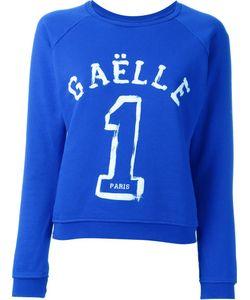 Gaelle Bonheur   Logo Print Sweater