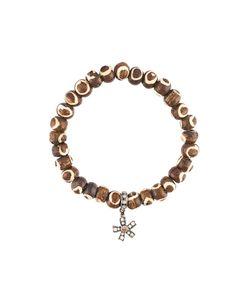 Loree Rodkin | Tribal Bead Diamond Charm Bracelet