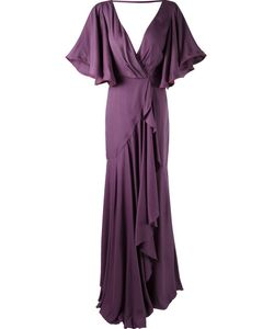 Emannuelle Junqueira   Long Pleated Party Dress
