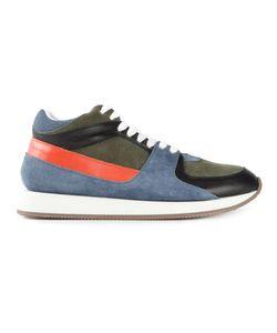 Kris Van Assche | Panelled Lace-Up Sneakers