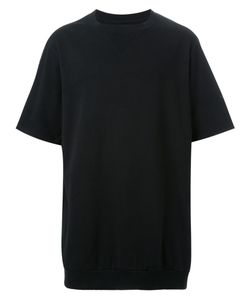 Dressedundressed | Neck Detailing Short-Sleeved Sweatshirt