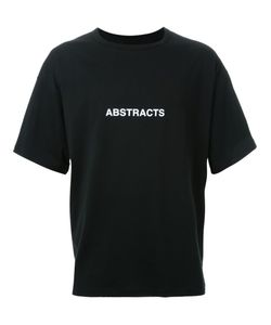 Dressedundressed | Abstracts Print Wide-Sleeved T-Shirt