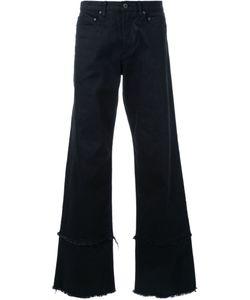 Dressedundressed | Wide-Legged Frayed Trousers