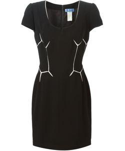 Thierry Mugler Vintage | Geometric Patterned Dress