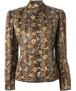 Emanuel Ungaro Vintage | Floral Quilted Jacket