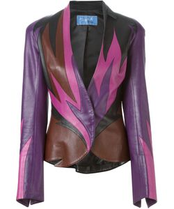 Thierry Mugler Vintage | Flame Leather Jacket