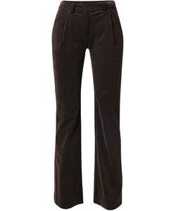 Emanuel Ungaro Vintage | Velvet Straight Leg Trousers