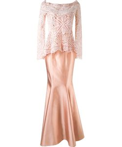 Martha Medeiros | Maxi Dress And Renascença Lace Blouse