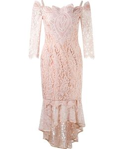 Martha Medeiros | Midi Lace Dress