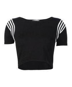 Unif | Shoulder Stripes Cropped T-Shirt
