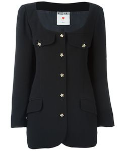 Moschino Vintage | Scoop Neck Jacket