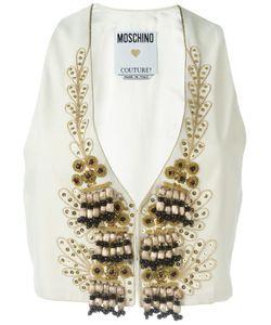 Moschino Vintage | Embellished Waistcoat