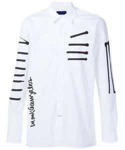 Études Studio   X Mark Gonzales Stripe Print Shirt