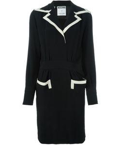 Moschino Vintage | Contrast Trim Tailored Dress