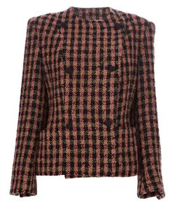Gianfranco Ferre Vintage | Checked Double Breasted Jacket