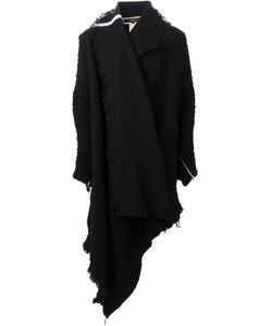 A New Cross | Asymmetric Wrap Coat