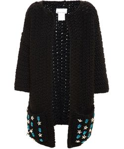 Wool And The Gang | Embellished Knitted Cardi-Coat
