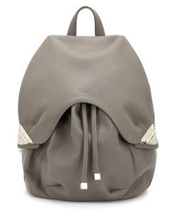 Valas | Embossed Logo Backpack
