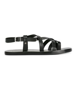 Dsquared2 | Toe Strap Sandals Mens Size 42 Leather/Rubber