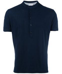 Paolo Pecora | Henley T-Shirt Mens Size Small Cotton