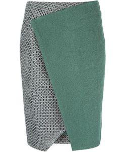 Linda Farrow Gallery   Panelled Wrap Skirt